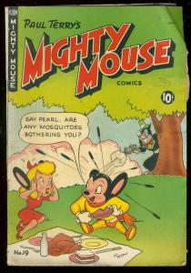 MIGHTY MOUSE #19 1950-PAUL TERRY-FUNNY ANIMAL-ST JOHN VG