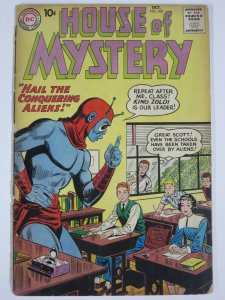 HOUSE OF MYSTERY #103 (DC,10/1960) FAIR for book spine split, otherwise VG