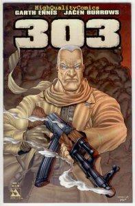 303 #1, NM+, Garth Ennis, Burrows, Rifle, Avatar, 2004, more Ennis in store (b)