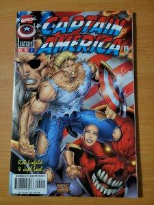 Captain America #2 ~ NEAR MINT NM ~ 1996 MARVEL COMICS