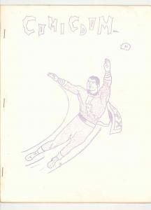 COMICDOM #3 RARE ORIGINAL .1964. DITTO FANZINE RARE COMIC MARKET HI GRADE VF