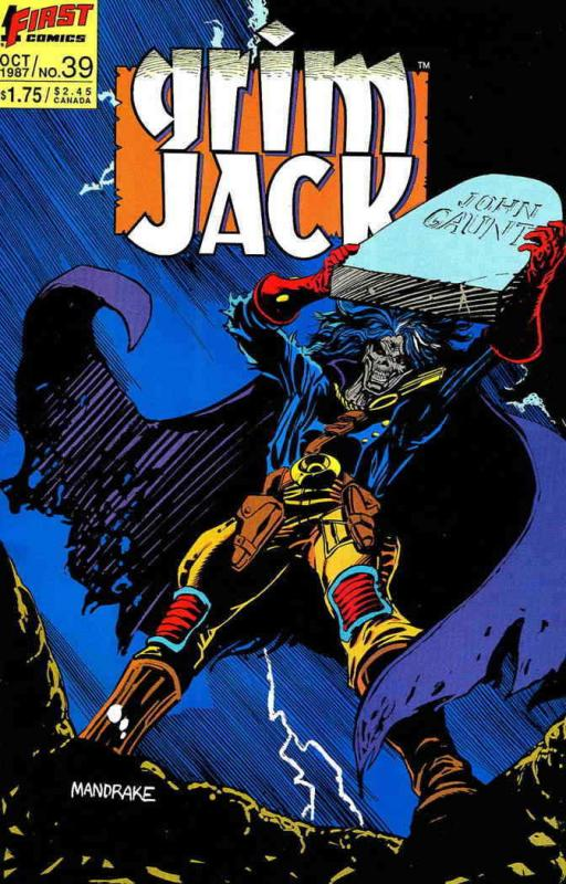 Grimjack #39 VF/NM; First | save on shipping - details inside