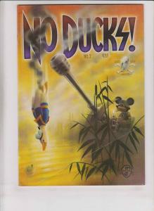 No Ducks! #2 FN (1st) print MICKEY MOUSE KILLS DONALD DUCK WITH A TANK!