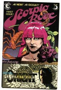 Scorpio Rose #1 1983 First issue Eclipse comic book VF/NM