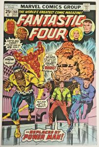FANTASTIC FOUR#168 FN/VF 1976 MARVEL BRONZE AGE COMICS