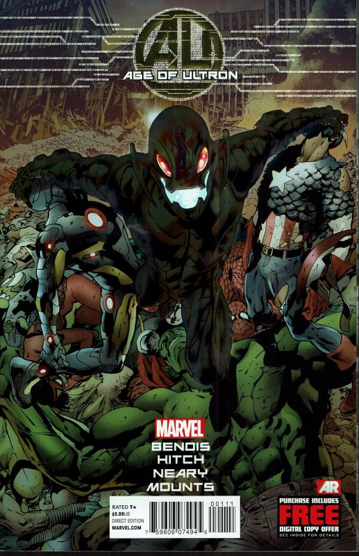 Age of Ultron #1 - NM - 2013 Marvel