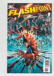 FLASHPOINT #1 ANDY KUBERT COLOR VARIANT FIRST PRINTING  NEAR MINT.