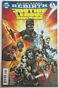 JUSTICE LEAGUE OF AMERICA#1 VF/NM 2018 FIRST PRINT DC UNIVERSE REBIRTH