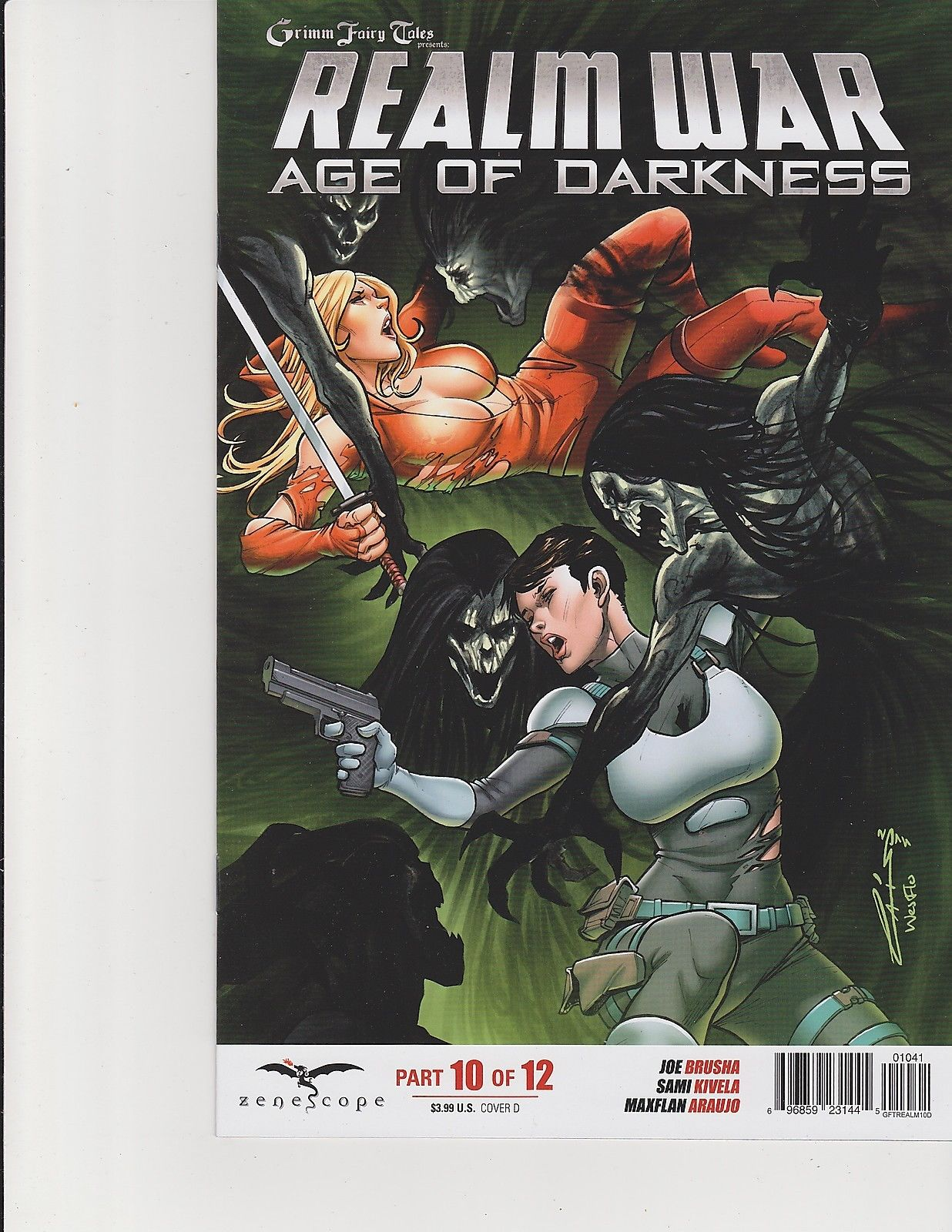 Tales from Neverland #2 Cover A Zenescope Comic GFT NM Seeley