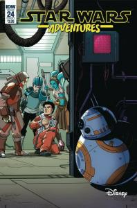 STAR WARS ADVENTURES (2017 IDW) #24 PRESALE-07/31