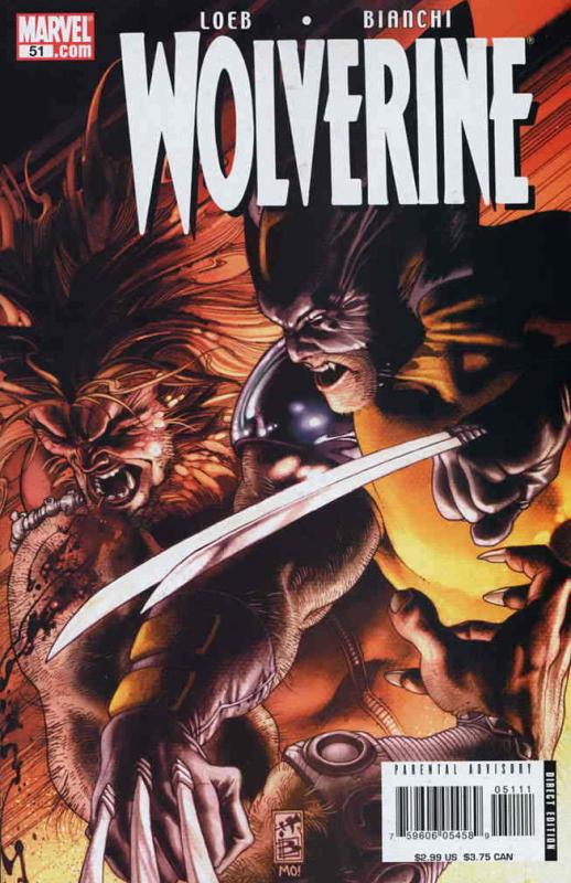 Wolverine (Vol. 3) #51 VF/NM; Marvel | save on shipping - details inside