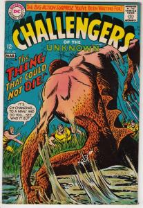 Challengers of the Unknown #60 (Mar-68) VF/NM- High-Grade Challengers of the ...