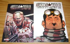 American Terror: Confession of a Human Smart Bomb #1-2 VF/NM complete series
