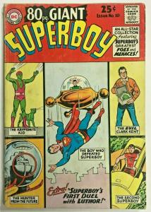 EIGHTY PAGE GIANT#10 VG- 1965  SUPERBOY DC SILVER AGE COMICS