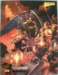 CRUX Promo poster, CrossGen, 10x13, 2001, Unused, more Promos in store