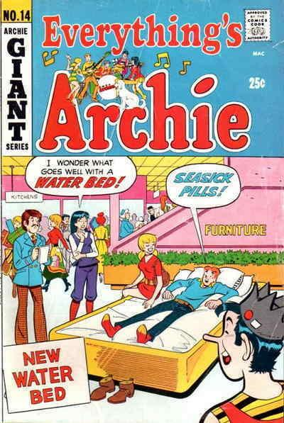 Everything's Archie #14 VG; Archie | low grade comic - save on shipping - detail