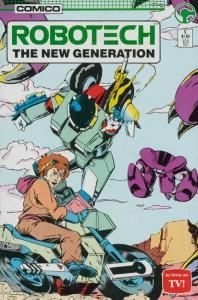 Robotech: The New Generation #1 FN; COMICO | save on shipping - details inside