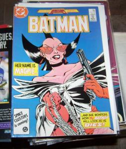Batman #401 (Nov 1986, DC) legends crossover pt 1 -magpie