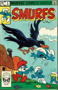 Smurfs #2- NM - 1st Series (1982 Marvel)