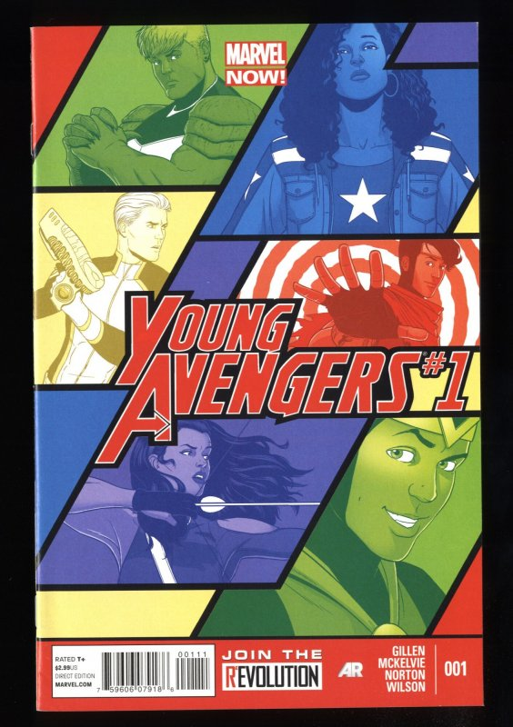 Young Avengers (2013) #1 NM 9.4