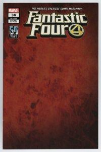 Fantastic Four #36 Flame Wrap Variant (Marvel, 2021) NM