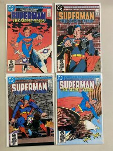 Superman The Secret Years set from:#1-4 DC 4 different books 6.0 FN (1985)