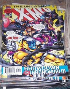 Uncanny X-Men #344  1997, Marvel) shi'ar gambit phalanx psylocke