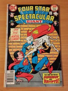 Four Star Spectacular #6 ~ FINE - VERY FINE VF ~ 1977 DC Comics