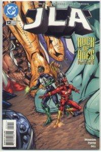 JLA (vol. 1, 1997) # 12 VG/FN (Rock of Ages 3) Morrison/Porter, Luthor/Joker