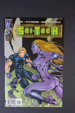 Sci-Tech #4 Dec 1999 First Print Wildstorm