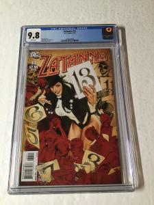 Zatanna 13 Cgc 9.8 White Pages Adam Hughes Ah! Cover
