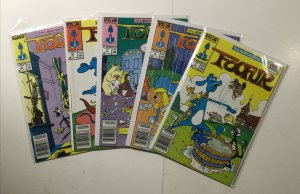 Foofur 1-5 1 2 3 4 5 Newsstand Edition Lot Run Near Mint- Nm- 9.2 Star Comics