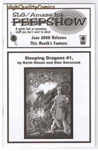 SLAVE LABOR GRAPHICS PEEPSHOW V2 #4, NM+, Dragons, 2000, more in store