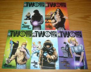 Two Over Ten #1-5 VF/NM complete series - signed by matt murphy - second  some