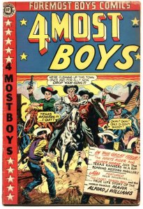 4MOST BOYS #40-JOHNNY WEISMULLER-TARZAN-LB COLE COVER-WALTER JOHNSON