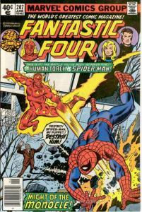 Fantastic Four (Vol. 1) #207 (Newsstand) FN; Marvel | save on shipping - details