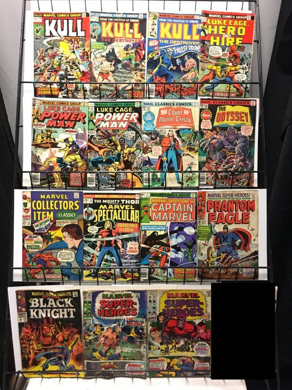 Marvel Bronze Age Reader's Lot of 63Diff Spider-Man F4 Kull
