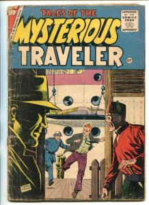 TALES OF THE MYSTERIOUS TRAVELER #1-1956-EGYPTOLOGY-DICK GIORDANO COVER-good