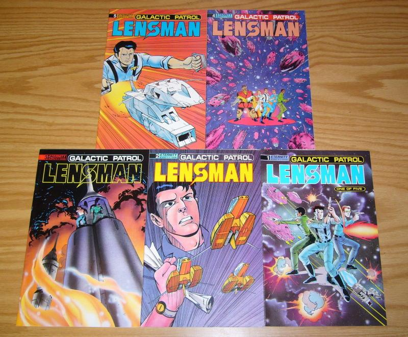Lensman: Galactic Patrol #1-5 VF/NM complete series - eternity comics 2 3 4 set