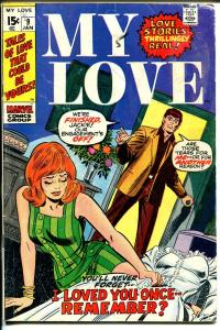 My Love #9 1971-Gene Colan-Don Heck-wedding dress-G/VG