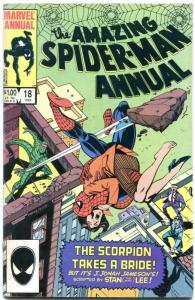 AMAZING SPIDER-MAN ANNUAL #18 1984-MARVEL- VF/NM