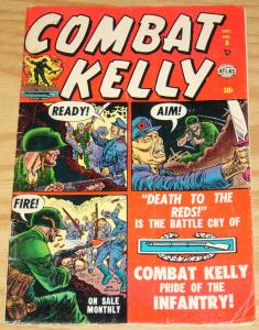 Combat Kelly #8 VG/FN december 1952 - atlas comics - death to the reds
