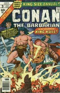 Conan the Barbarian (1970 series) Annual #3, Fine+ (Stock photo)