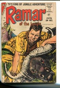 RAMAR OF THE JUNGLE- #5 1958-CHARLTON-JON HALL-MAURICE WHITMAN-vg