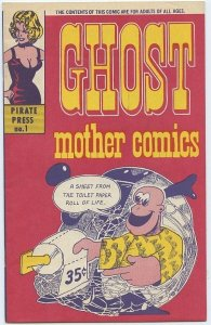 GHOST MOTHER COMICS #1 (Pirate Press, 1969) Extremely rare in Near mint