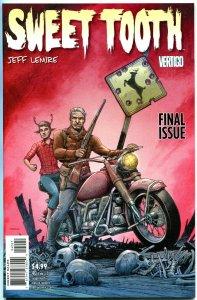 SWEET TOOTH #40, NM, Variant, Jeff Lemire, Horror, Vertigo, 2009