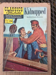 Classics Illustrated Kidnaped