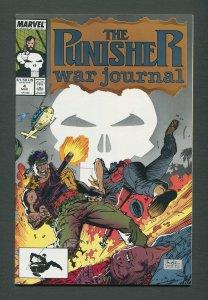 Punisher War Journal #4  / 9.4 NM  / March 1989