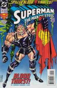 Superman: The Man of Steel #29 VF; DC   Spilled Blood - we combine shipping