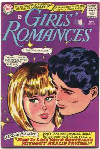 Girls' Romances #111 1963- DC Silver Age- how to lose your boyfriend G/VG